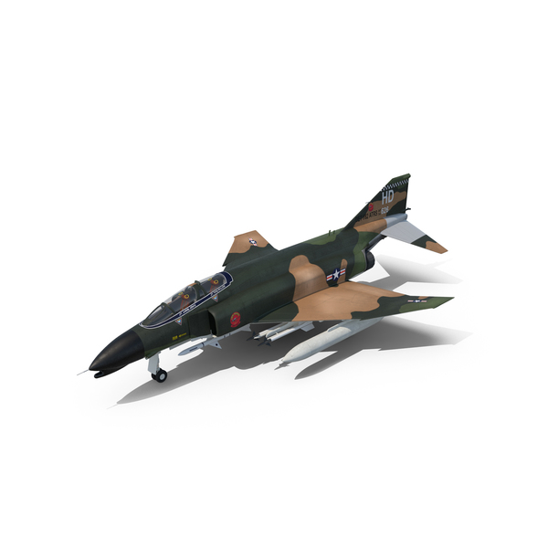 Fighter Jet: McDonnell Douglas F4 Phantom II PNG & PSD Images
