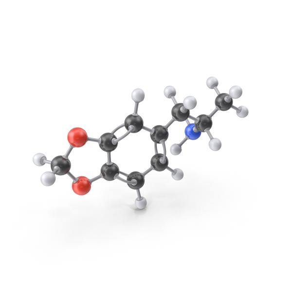 MDA Molecule PNG & PSD Images