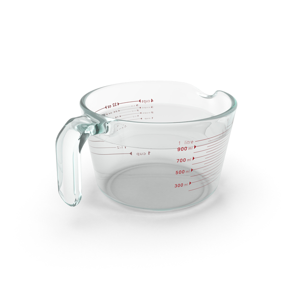Measuring Cup Glass PNG & PSD Images