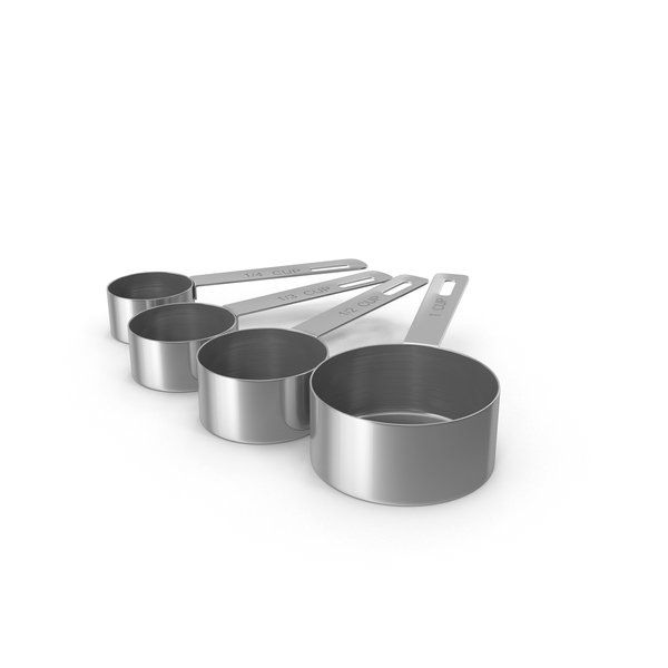 Measuring Cup Steel Object