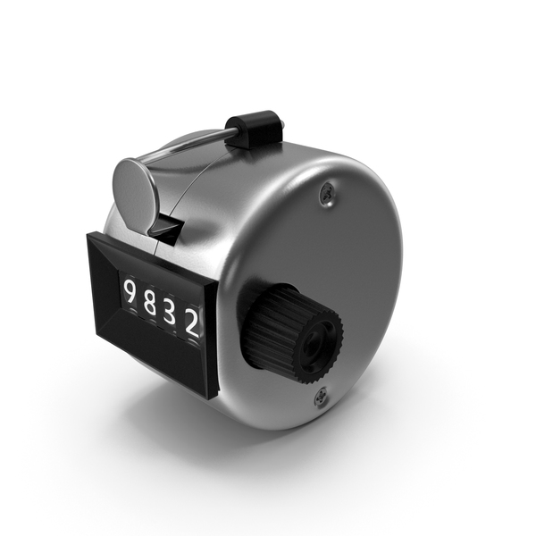 Mechanical Handheld Tally Counter PNG & PSD Images