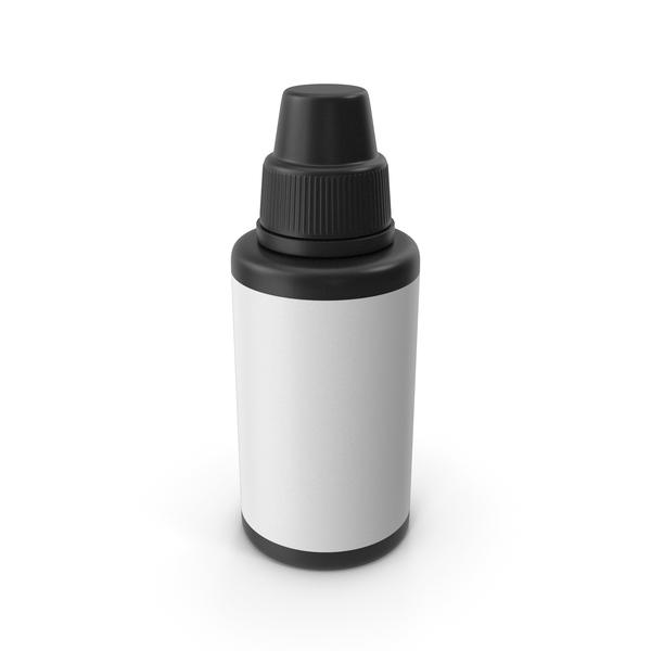 Medical Bottle Black PNG & PSD Images