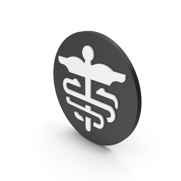 Caduceus: Medical Icon PNG & PSD Images