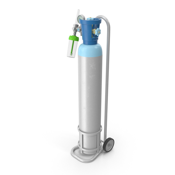 Medical Oxygen Cylinder PNG & PSD Images