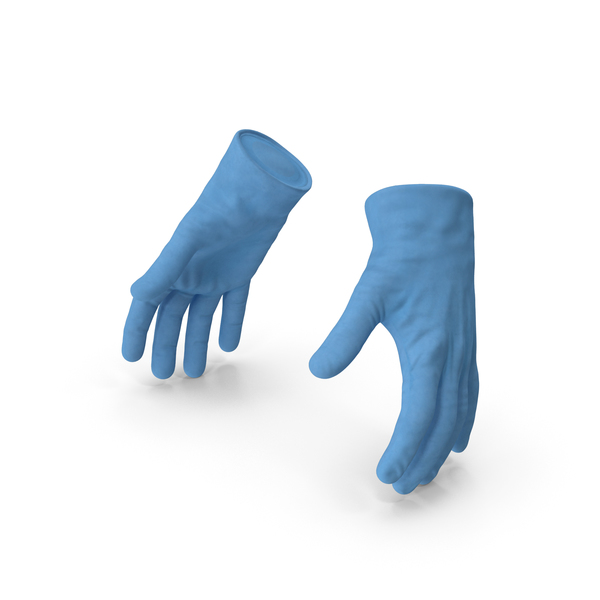Medical Protective Gloves PNG & PSD Images