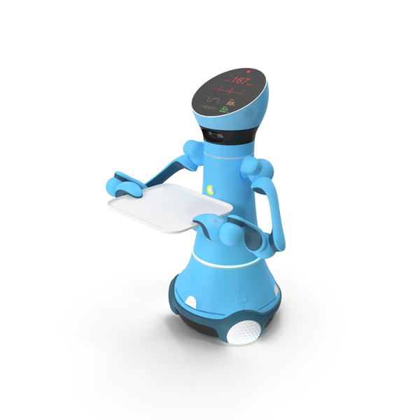 Medical Service Robot PNG & PSD Images
