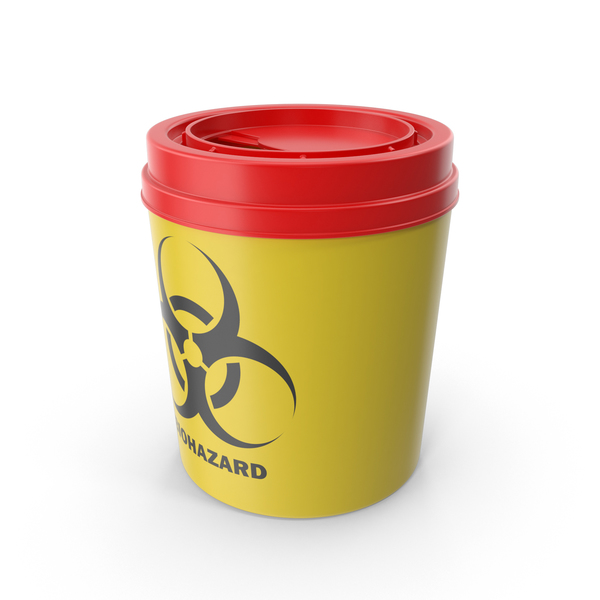 Medical Waste Disposal Sharps Bin PNG & PSD Images