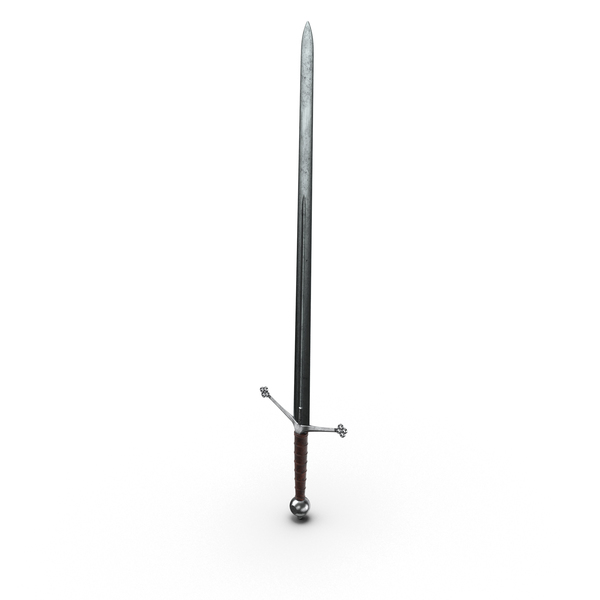 Sword: Medieval Broadsword Object