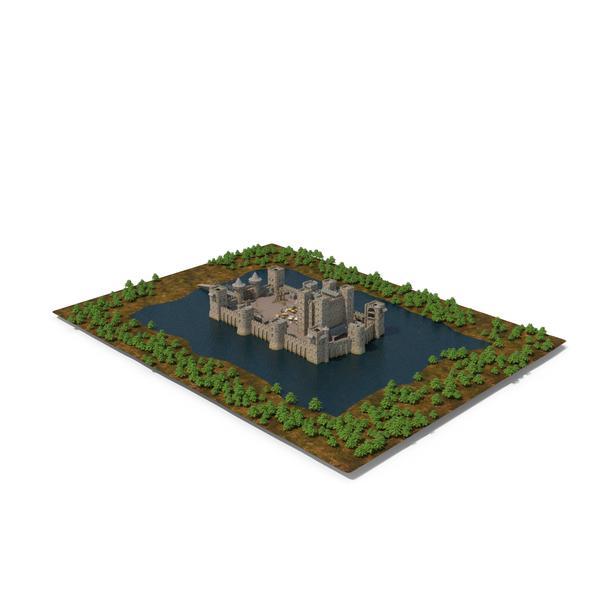 Medieval Castle PNG & PSD Images