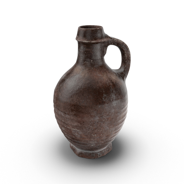 Medieval Ceramic Wine Jug Object