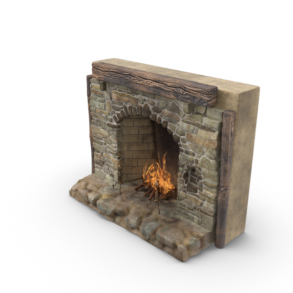 Medieval Fireplace PNG & PSD Images