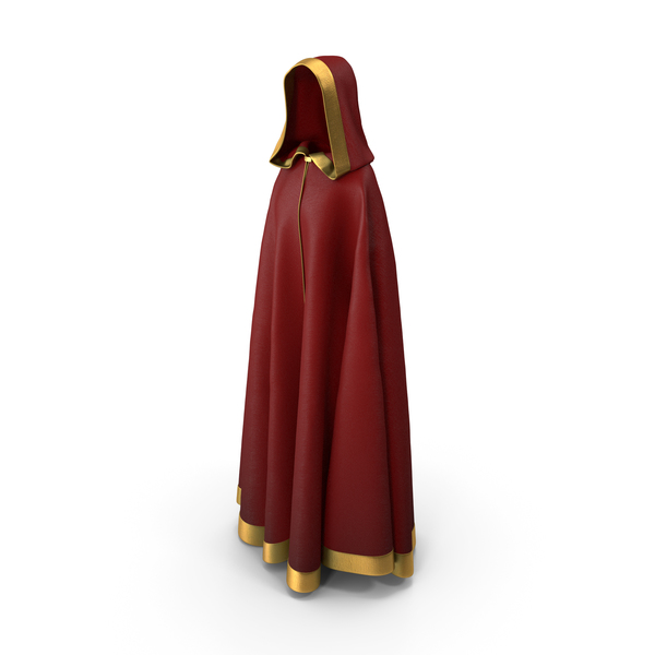Medieval Hooded Cloak PNG & PSD Images