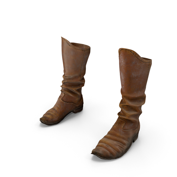 Medieval Leather Boots PNG & PSD Images
