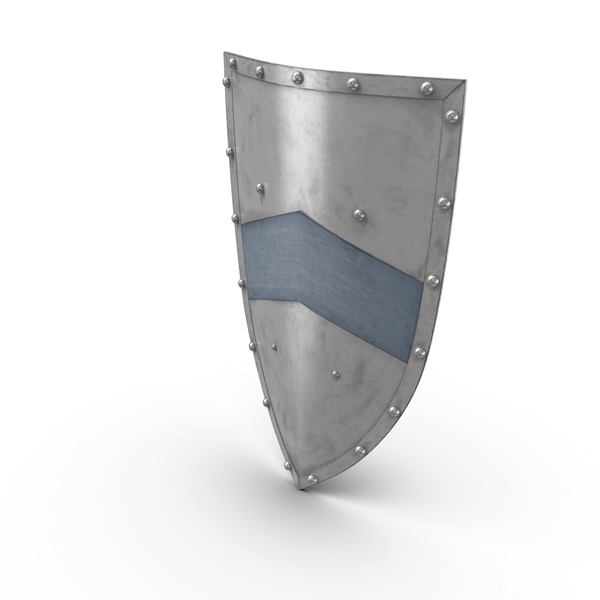 Medieval Metal Shield Object