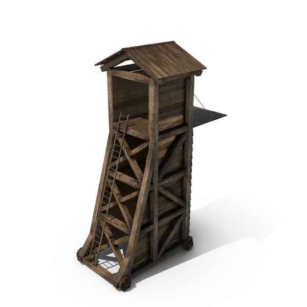 Medieval Siege Tower Object