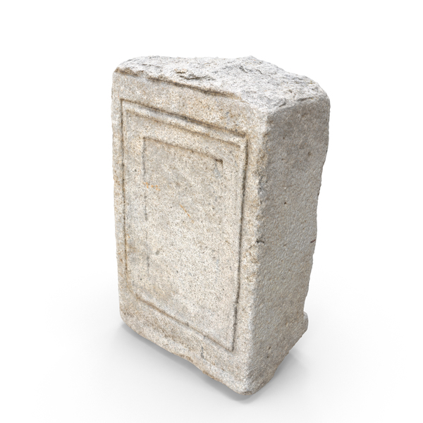Medieval Stone Block Piece PNG & PSD Images