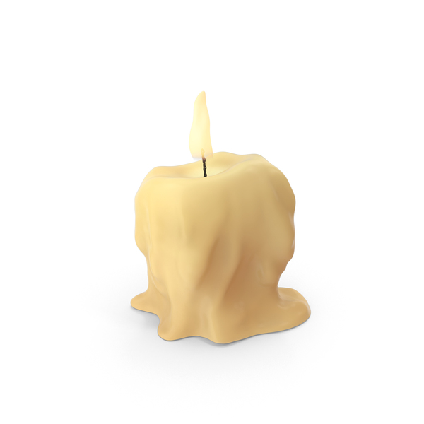 Medieval Table Candle PNG & PSD Images