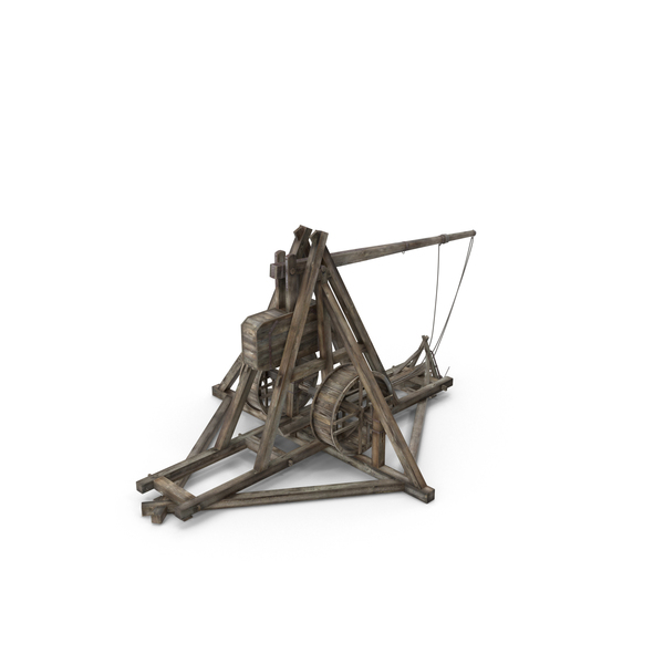 Medieval Trebuchet PNG & PSD Images