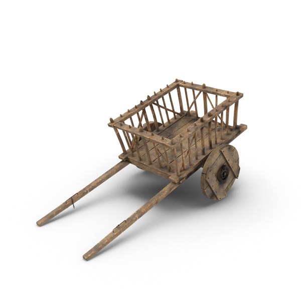 Medieval Wagon Object