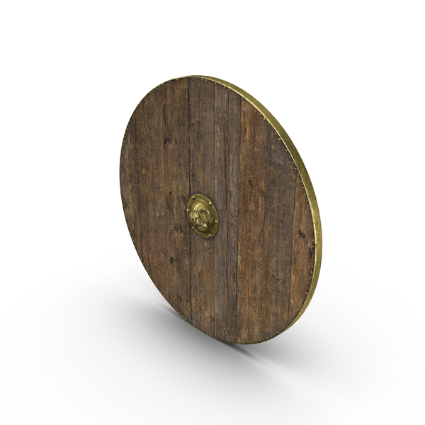 Medieval Wooden Shield PNG & PSD Images