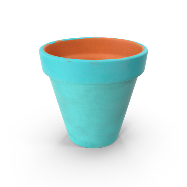 Medium Flower Pot PNG & PSD Images