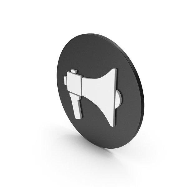 Logo: Megaphone Icon PNG & PSD Images