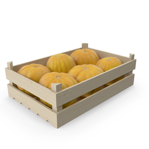 Melon Crate PNG & PSD Images
