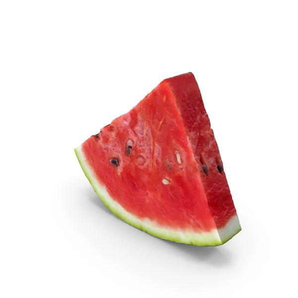 Watermelon: Melon Slice Piece PNG & PSD Images