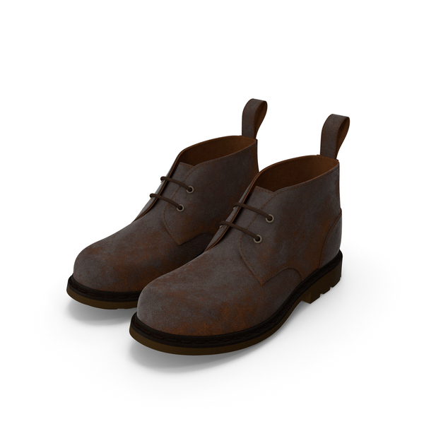Men Ankle Boots PNG & PSD Images