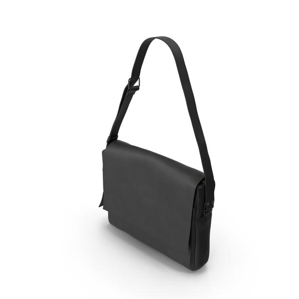 Men's Bag Black PNG & PSD Images