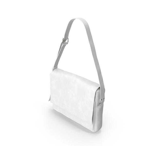Men's Bag White PNG & PSD Images