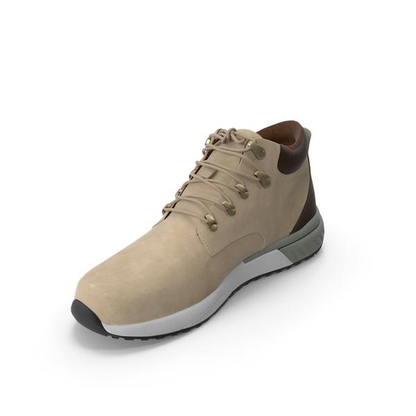 Men's Boots Beige PNG & PSD Images
