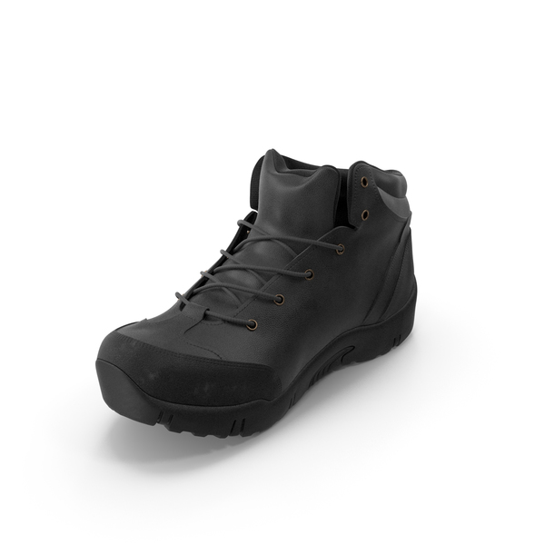 Military: Men's Boots Black PNG & PSD Images