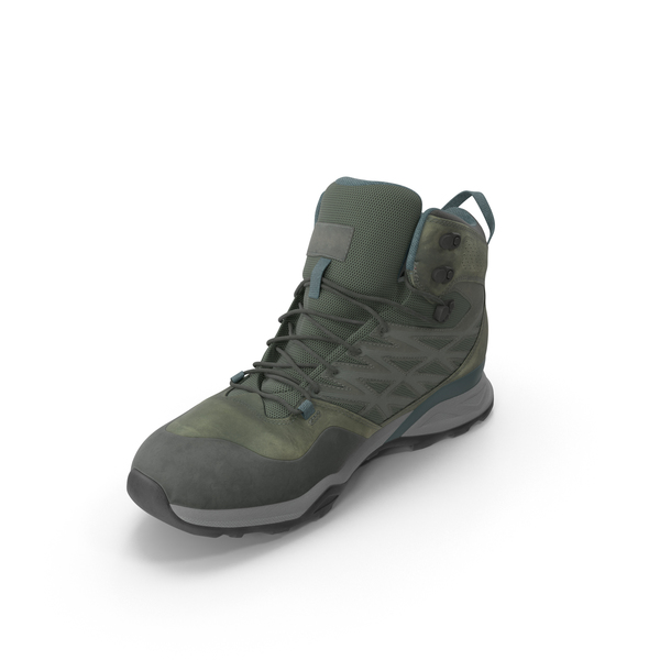 Hiking: Men's Boots PNG & PSD Images