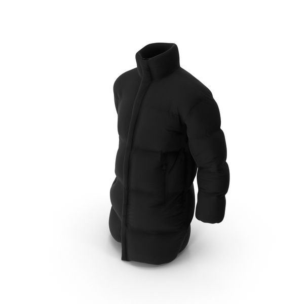 Men's Down Jacket PNG & PSD Images