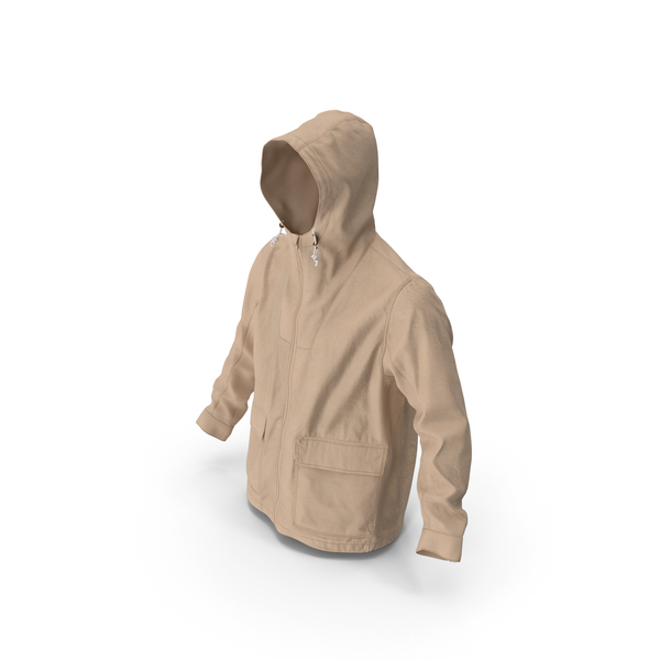 Men's Jacket Beige PNG & PSD Images