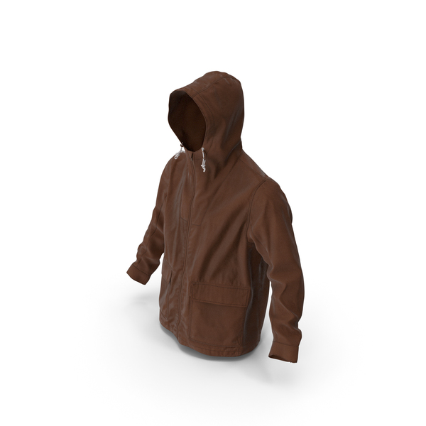 Men's Jacket Brown PNG & PSD Images