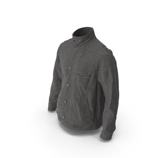 Men's Jacket Dark Gray PNG & PSD Images