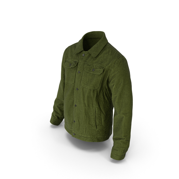 Men's Jacket Green PNG & PSD Images