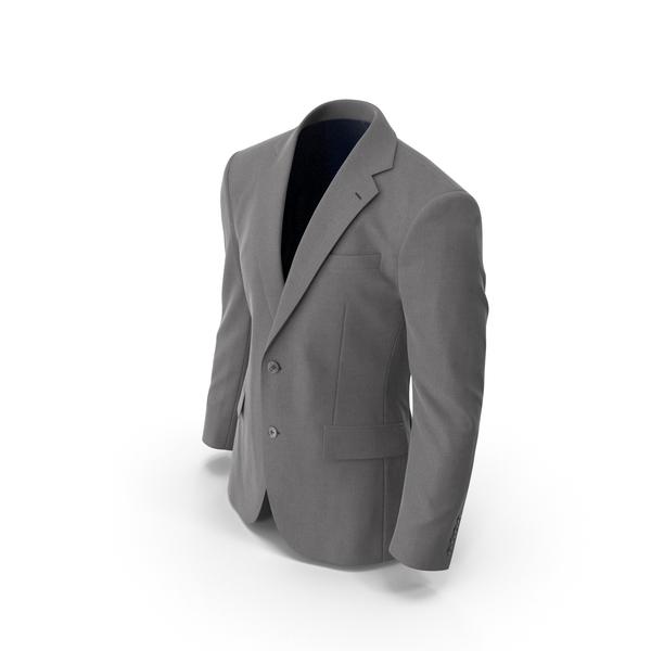 Men's Jacket Grey PNG & PSD Images