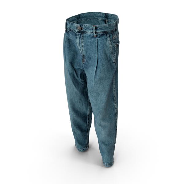 Men's Jeans Blue PNG & PSD Images