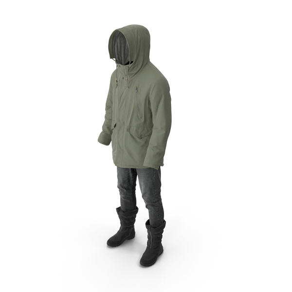 Men's Pants Boots Pullover Coat PNG & PSD Images