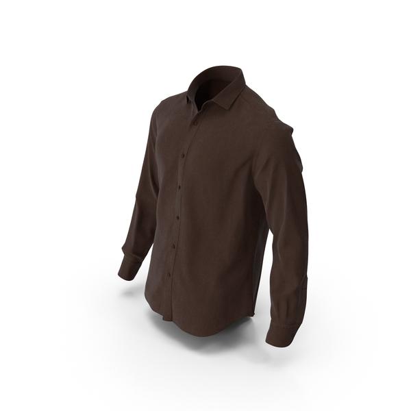 Men's Shirt Brown PNG & PSD Images