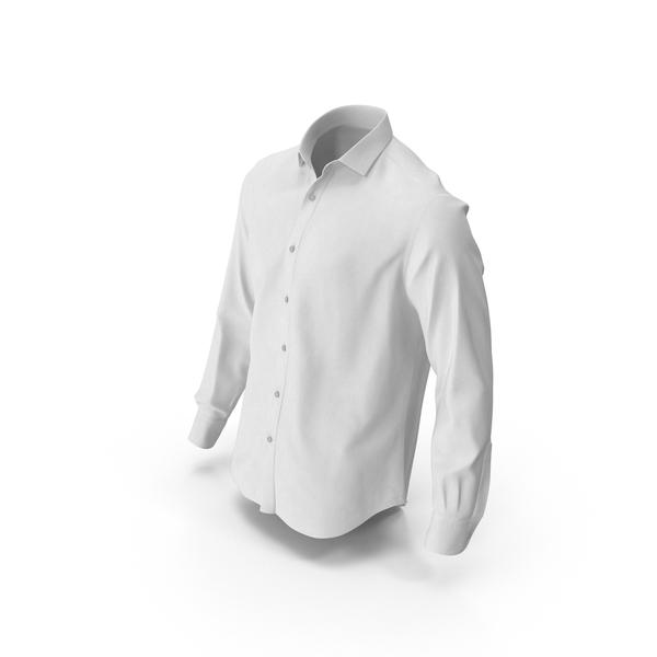 Men's Shirt White PNG & PSD Images