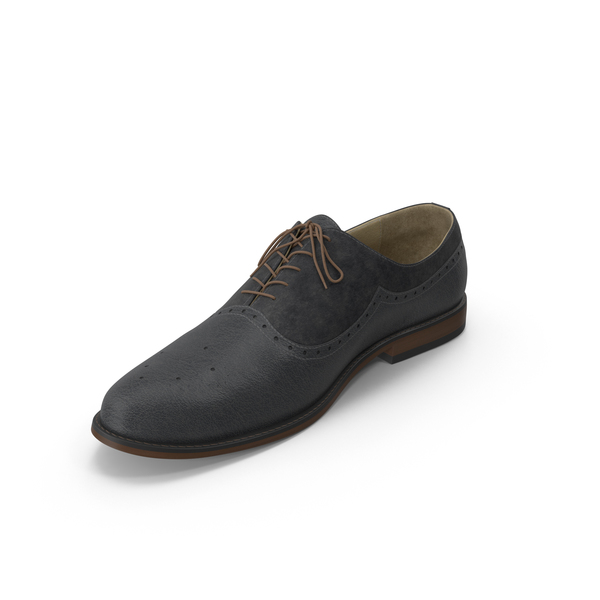 Men's Shoes Black PNG & PSD Images