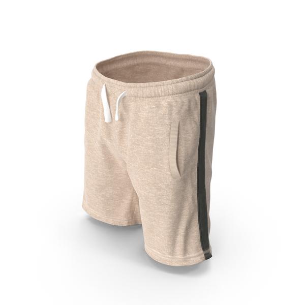 Men's Shorts Beige PNG & PSD Images