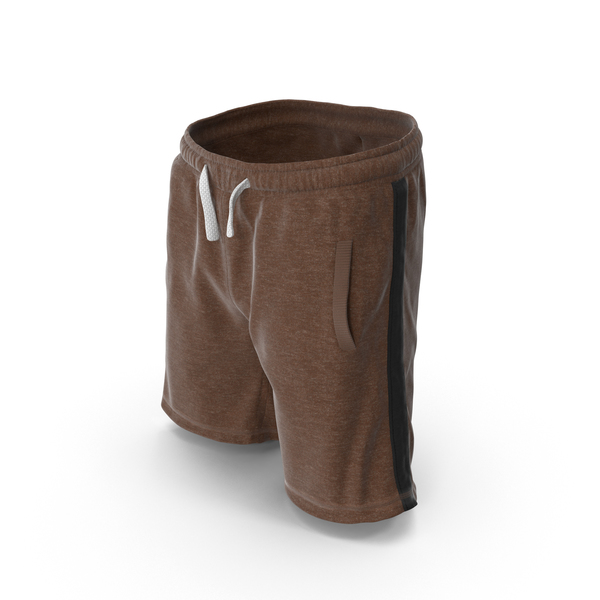 Men's Shorts Brown PNG & PSD Images