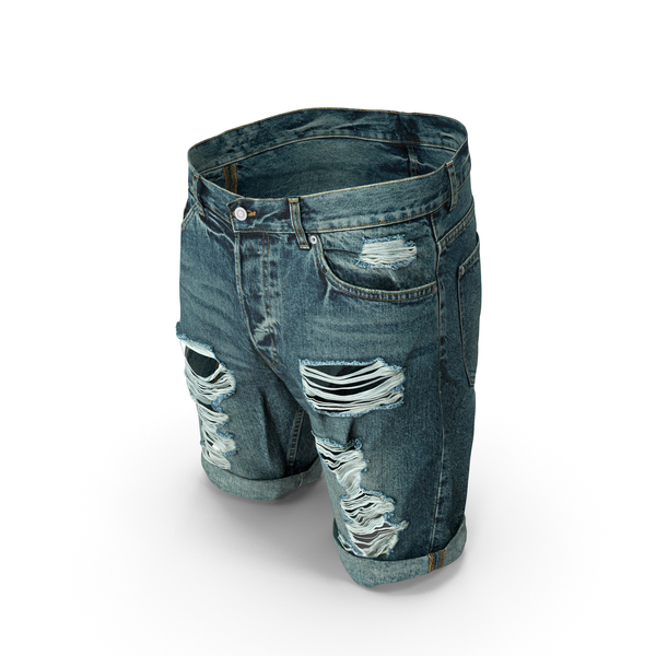 Men's Shorts Dark Blue PNG & PSD Images