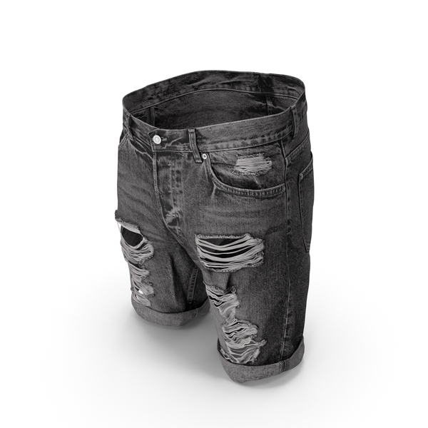 Men's Shorts Dark Grey PNG & PSD Images