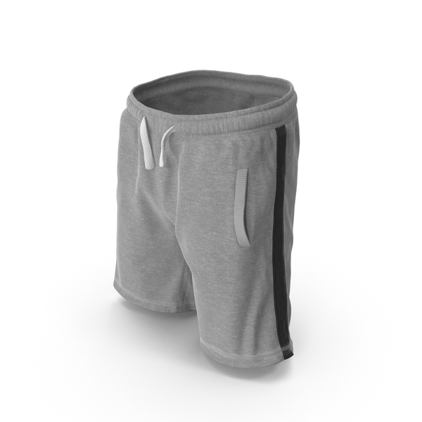 Men's Shorts Gray PNG & PSD Images